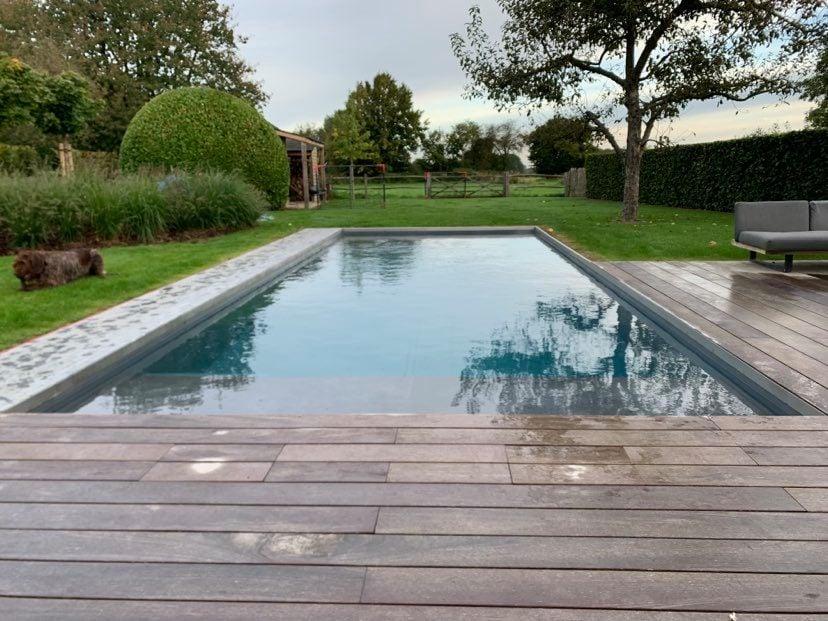 Projet de piscine à Céroux