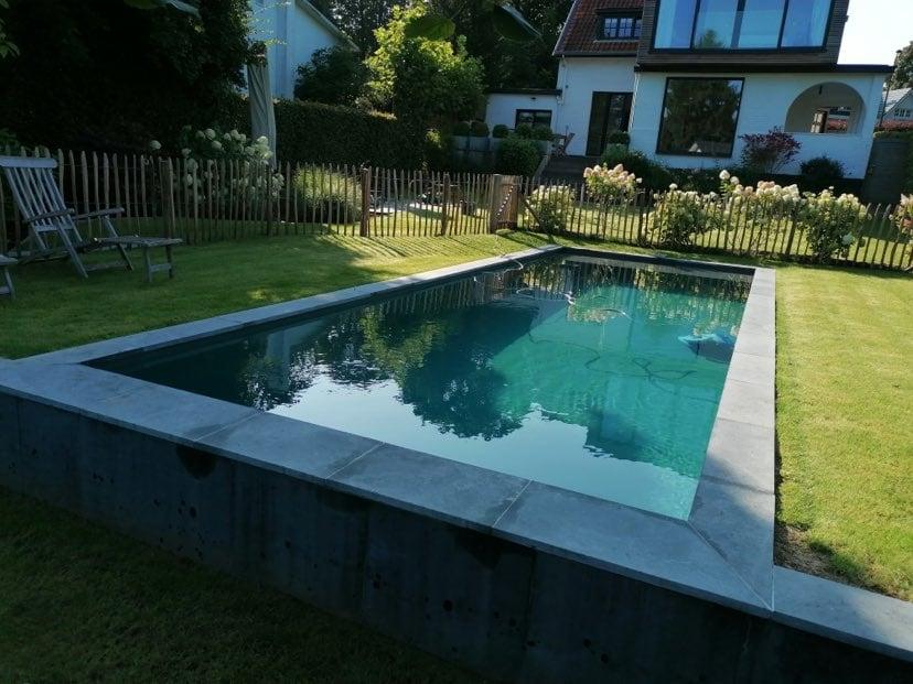 Projet de piscine à Rhode-Saint-Genèse